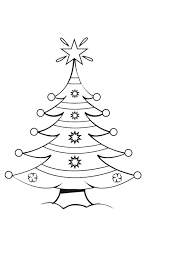 christmas tree colouring activities kidspot