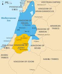 Map Of Palestine Map Of The Levant Circa 830 Bce Illustration Ancient History