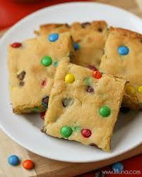 simple and delicious cake mix cookie bars a great