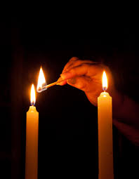 shabbot candles lighting sabbath candles by barry kester exponent