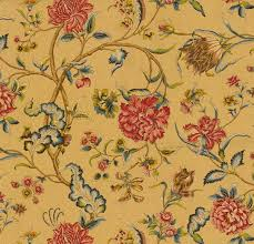 Waverly Upholstery Fabric Upholstery Fabric Floral Pattern Cotton En Route Spice Of