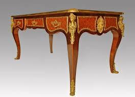 bureau louis xv bureau plat style louis xv giltbronze rosewood desk ancient