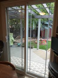 Simonton Patio Doors Simonton Patio Door W Prairie Grid Home Improvement