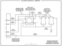 homelite bm905000 5000 watt generator parts diagram for wiring diagram