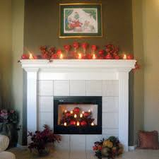 Candles For Fireplace Decor by Candles For Fireplace Traditional Style Decorating Candles For