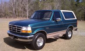 ford bronco information and photos momentcar