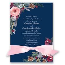 bold blooms invitation invitations by