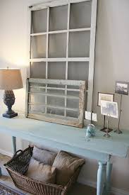 rural decor entryway paint color with large old framed windows