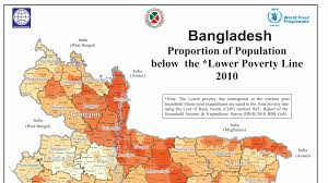 Basic World Map by Latest Bangladesh Poverty Maps Launched