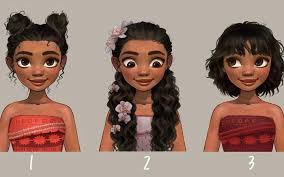 different hair an artist reimagined these disney princesses with different