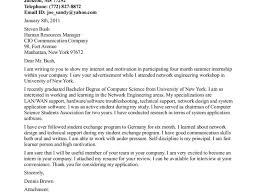 good samples of cover letter for internship 44 with additional