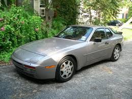 porsche 944 silver 1988 porsche 944 turbo silver for sale german cars for sale