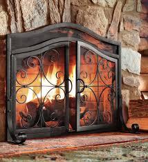 Fireplace Glass Doors Home Depot by Glass Door Fireplace Screens
