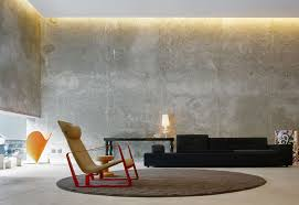 Captivating Living Room Designs With Concrete Wall DesignRulz - Concrete walls design