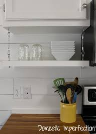Adding Shelves To Kitchen Cabinets How To Raise Your Cabinets Add A Shelf Domestic Imperfection