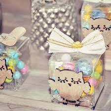 owl themed baby shower owl baby shower favor ideas candy box with gold owl and white