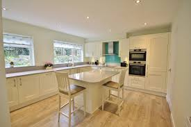 shaker kitchen design in ivory with light grey worktops home