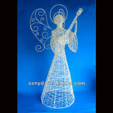 Outdoor Lighted Christmas Decorations by Outdoor Lighted Christmas Angels Christmas Angels With Led Lights