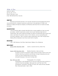 unsolicited cover letter for accounting position