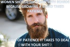 No Shit Memes - as a man with a beard i simply don t take shit from no one imgur