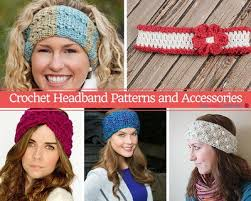 50 crochet headband patterns allfreecrochet