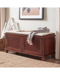 Entryway Storage Bench Deal Alert Weston Home Georgia Entryway Storage Bench Multiple
