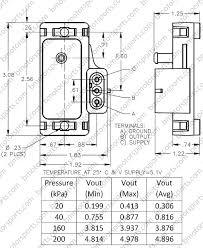 gm map sensor home shop sensors pressure sensors delphi gm 2 bar map