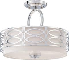 nuvo lighting 60 4629 three light semi flush mount semi flush