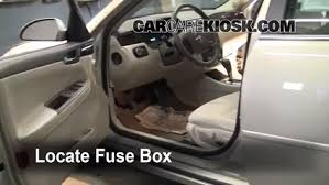 2003 Chevy Impala Interior Interior Fuse Box Location 2006 2016 Chevrolet Impala 2008