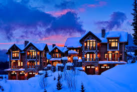 pretty wallpaper for computer winter night cabin nice pretty calmness cottages evening