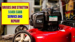 cub cadet lawn mower repair briggs and stratton 550ex 500ex