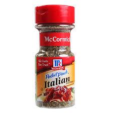 mccormick perfect pinch italian seasoning 21g from redmart