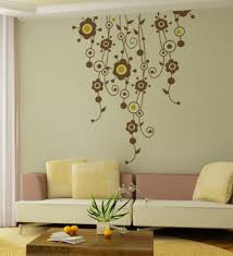 Home Decor On Line Wall Decoration Wall Art Yellow Flowers Lovely Home Decoration