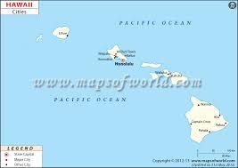 map of hawaii cities cities in hawaii hawaii cities map