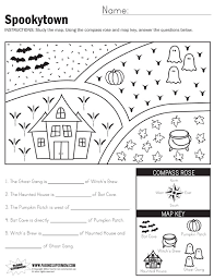 reading a map maps social studies worksheets and free printables