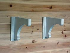 Distressed Wood Shelves by Custom Woodworking These Unfinished Wood Shelf Brackets Are Ready