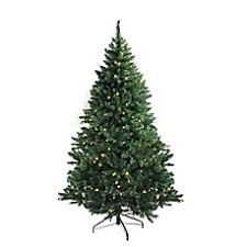artificial christmas trees pre lit christmas trees bed bath