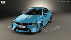 bmw concept 2002 360 view of bmw 2002 hommage 2016 3d model hum3d store