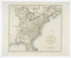 Us New York Map by United States Of America Isolated Map And New York State Territory