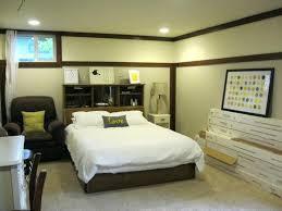 bedroom ideas for basement unfinished basement bedroom ideas turn basement into bedroom image