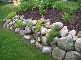 unthinkable rock wall garden designs 17 best images about rock