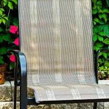 Patio Chair Replacement Slings Who Knew You Could Replace The Slings On Patio Furniture