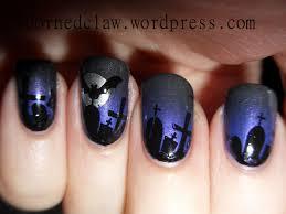 nail art halloween nails magnificent bat nail art images concept