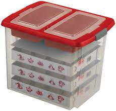 ornament storage box decoration ornament storage