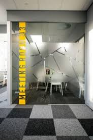 Conference Room Design Black And Yellow Abn Headquarters Office Interior Conference Room