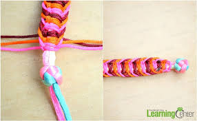 woven bracelet tutorials images How to braid a flat hemp macrame bracelet in a different way jpg