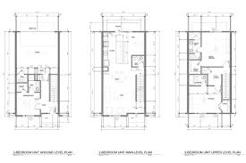 River City Phase 1 Floor Plans by Riverwalk Townhomes Century Builders