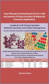Jewelry Inventory Spreadsheet Cheap Craft Materials List Find Craft Materials List Deals On