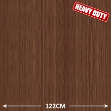 Sticky Laminate Floor Mahogany Wood Effect Heavy Duty Self Adhesive Sticky Back Plastic