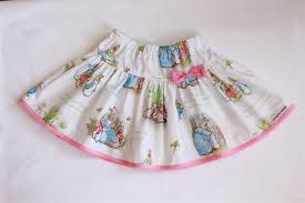rabbit material easter 2014 twirly skirt size 3 rabbit fabric ame and ela